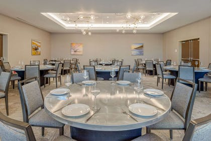 Large space for receptions, parties, anniversaries, and business   Cambria Hotel Charleston Riverview