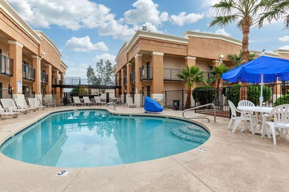 Outdoor pool   Quality Inn & Suites near Downtown Mesa