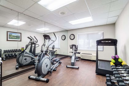 Fitness center | Quality Inn & Suites Augusta I-20