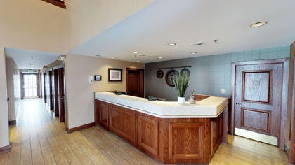 front desk use | Chase Suite Hotel Brea