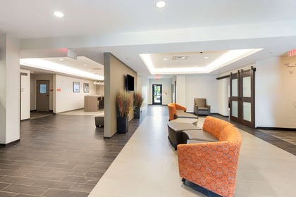 Lobby and Guest Check-in   Extended Stay America - Rock Hill