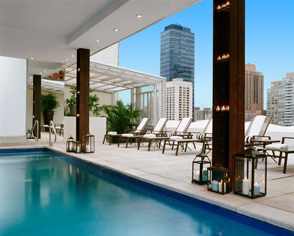 Rooftop Pool at Empire Hotel NewYork | The Empire Hotel