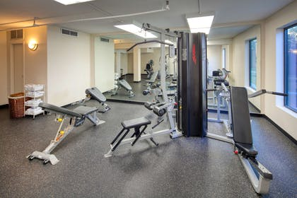 RL Houston Fitness Facility   Red Lion Hotel Houston Intercontinental Airport