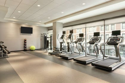 Health club fitness center gym | Home2 Suites by Hilton Chicago River North