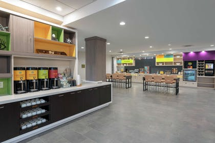 Breakfast Area | Home2 Suites by Hilton Indianapolis Airport