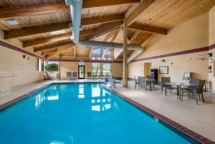 Indoor pool   Quality Inn & Suites Lawrence - University Area