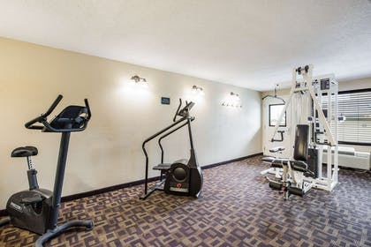 Fitness center   Quality Inn & Suites Lawrence - University Area