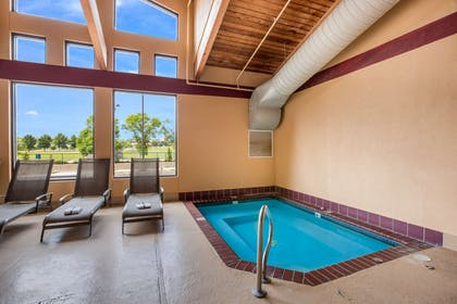 Indoor hot tub   Quality Inn & Suites Lawrence - University Area