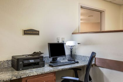 Business center   Quality Inn & Suites Lawrence - University Area