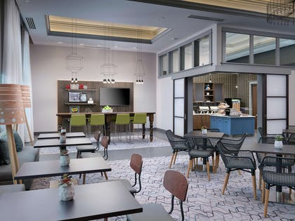 Breakfast Area | Hampton Inn & Suites Atlanta Decatur/Emory