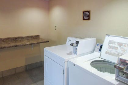 Guest laundry facilities   Clarion Inn