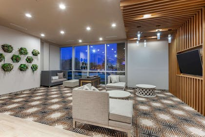 Lobby with sitting area | Cambria Hotel Richardson-Dallas