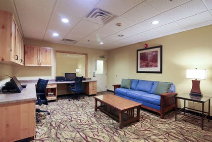 Business Center | Hawthorn Suites by Wyndham Minot