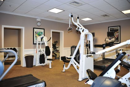 Health club | Fort Magruder Hotel Trademark Collection by Wyndham