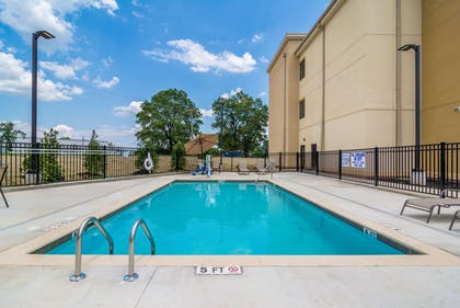 Outdoor pool | Comfort INN AND Suites