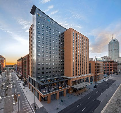 Exterior   Hyatt House Indianapolis Downtown