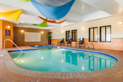Indoor pool | Comfort Inn & Suites Denver Northeast