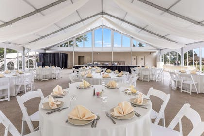 The Glenview tent | Traditions Hotel & Spa, an Ascend Hotel Collection Member
