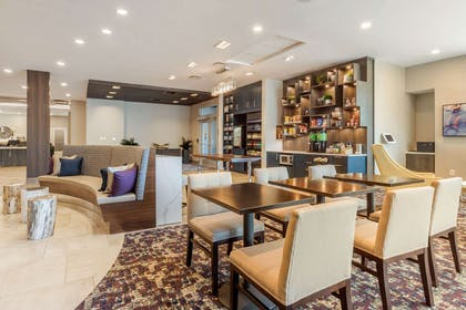 Spacious lobby with sitting area | Cambria Hotel Fort Mill