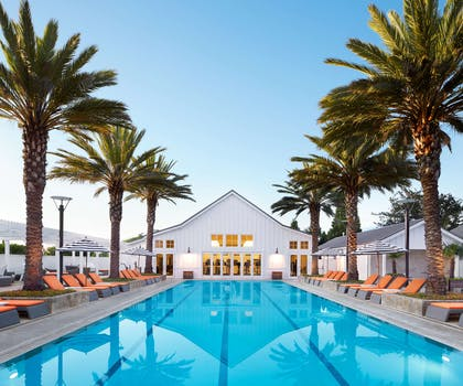 Otto's Pool | Carneros Resort and Spa