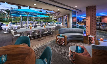 ZuZu Rear Dining Area and Patio | Hotel Valley Ho