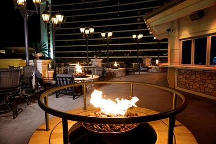 Edge Nightclub outdoor patio | Peppermill Resort Spa Casino