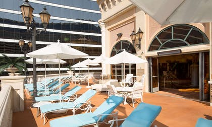 Spa Outdoor Deck | Peppermill Resort Spa Casino