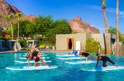 Pool view | Sanctuary on Camelback Mountain Resort and Spa
