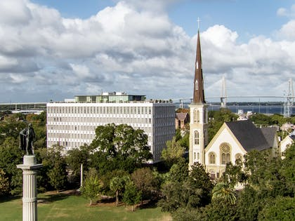 The Dewberry Charleston Aerial Exterior Day | The Dewberry Charleston