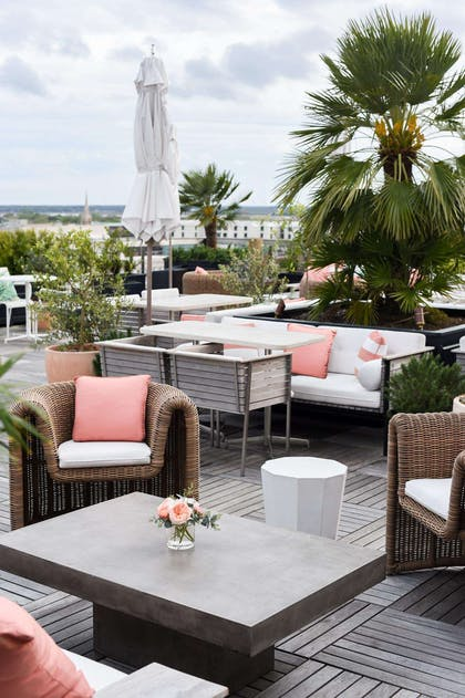 Citrus Club Exterior Rooftop | The Dewberry Charleston