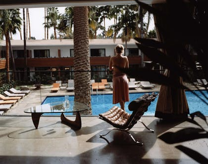 Pool view | The Hollywood Roosevelt