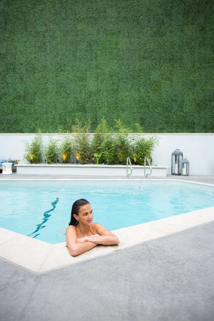 Pool view | Mosaic Hotel - Beverly Hills