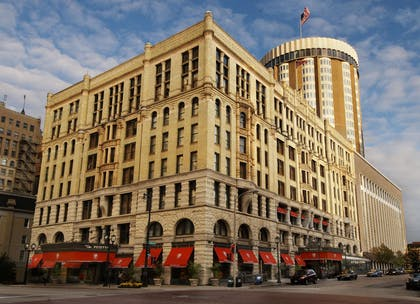 Exterior view | The Pfister Hotel