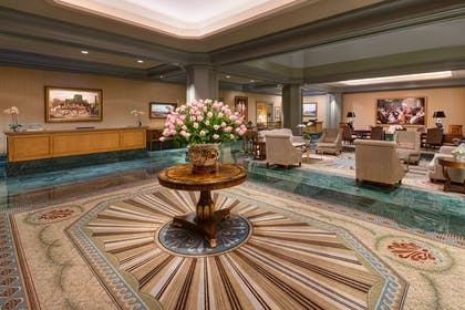 Lobby view | Windsor Court Hotel
