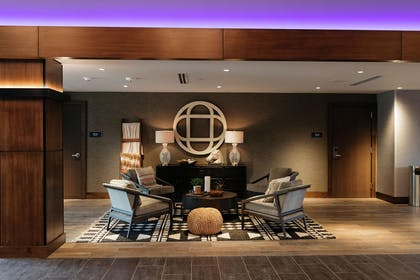 Lobby | Revel Hotel Des Moines Urbandale, Tapestry Collection by Hilton