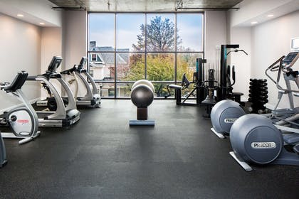 Health club fitness center gym   Watt Hotel Rahway, Tapestry Collection by Hilton