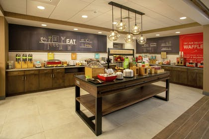 Breakfast Area | Hampton Inn & Suites Kutztown, PA