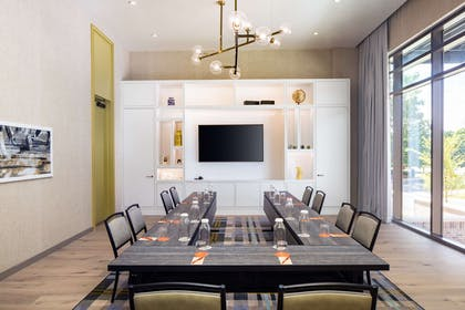 Meeting Room | Canopy by Hilton Charlotte Southpark