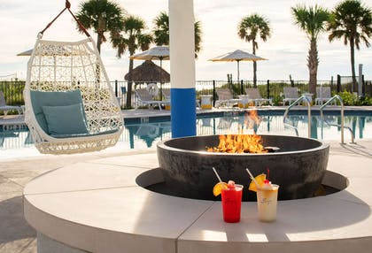 Sirata Beach Resort North Pool Fire Pit Two rd two | Sirata Beach Resort