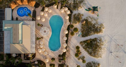 Sirata Beach Resort Aerial Sunset One | Sirata Beach Resort