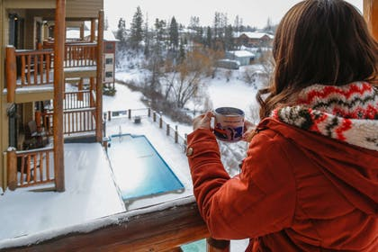 Hot chocolate bar | The Pine Lodge on Whitefish River, Ascend Hotel Collection