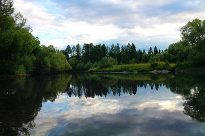 Surrounding area | The Pine Lodge on Whitefish River, Ascend Hotel Collection