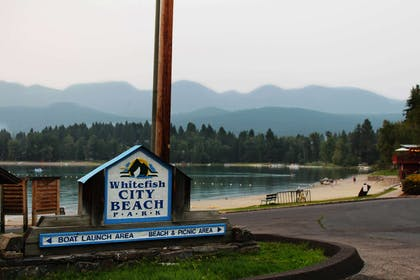 Enjoy Whitefish City Beach Park | The Pine Lodge on Whitefish River, Ascend Hotel Collection