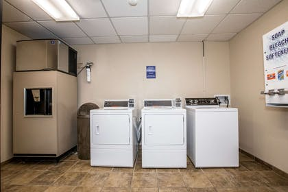 Guest laundry facilities | The Pine Lodge on Whitefish River, Ascend Hotel Collection