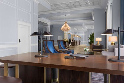 Lobby Work space | The Chase Park Plaza Royal Sonesta St. Louis