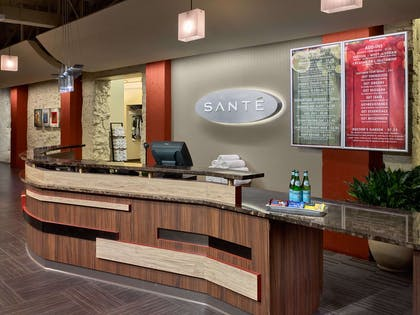 Sante Fitness Entrance | The Chase Park Plaza Royal Sonesta St. Louis