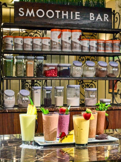 Sante Fitness Smoothie Bar | The Chase Park Plaza Royal Sonesta St. Louis