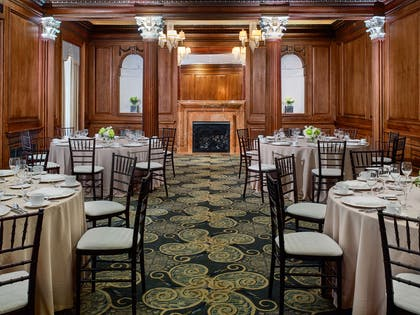 Meeting Events Plaza Room Rounds | The Chase Park Plaza Royal Sonesta St. Louis