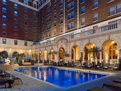 Pool Twilight | The Chase Park Plaza Royal Sonesta St. Louis