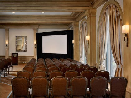 Hamptons Theater Set Up | Royal Sonesta Harbor Court Baltimore